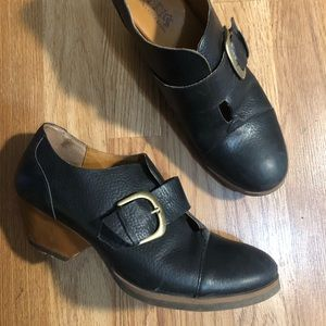 Kork-Ease Buckle Booties